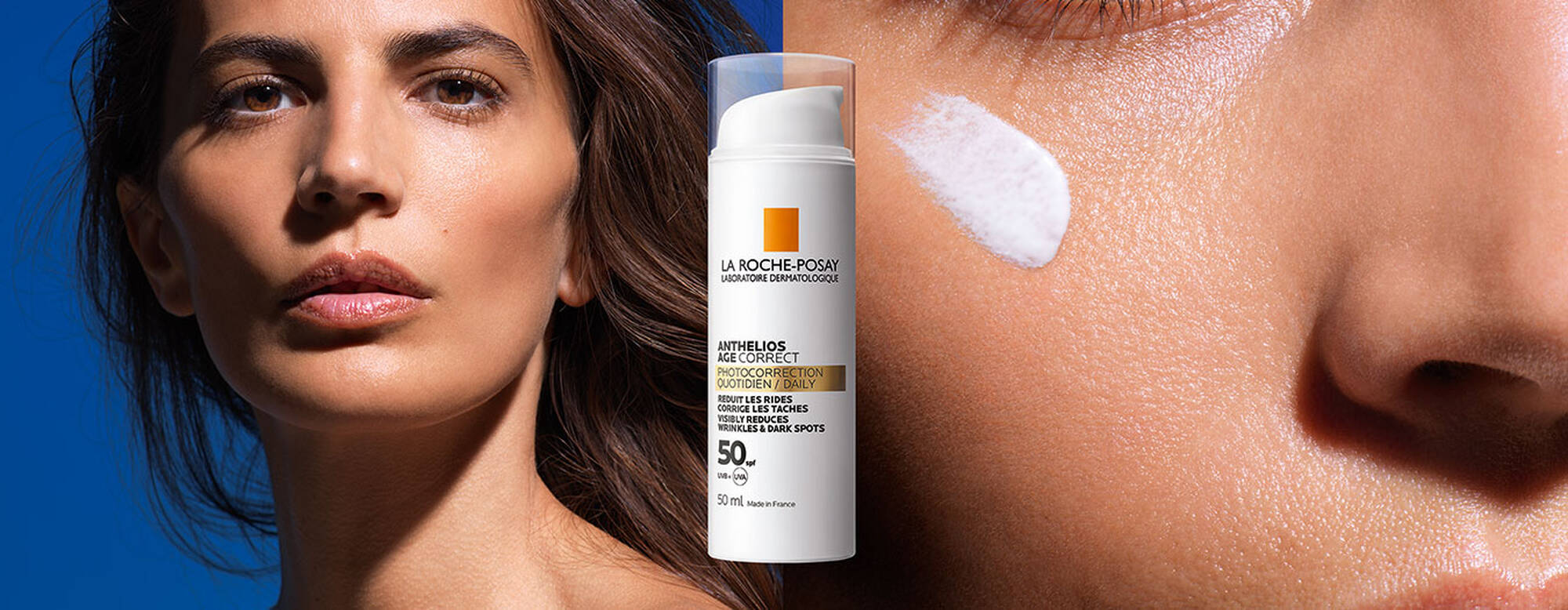 Introducing our NEW Anthelios Age-Correct SPF50